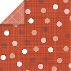 Dark Powder Dots Cardstock