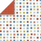 Mini Rec Squares Paper