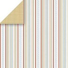 Loft Cushion Stripe Paper