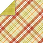 Greenhouse Olive Plaid Paper