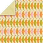 Greenhouse Argyle Cardstock