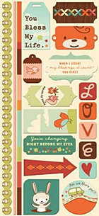 Nutmeg Stickers