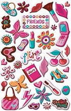 Its A Girl Thing Epoxy Stickers