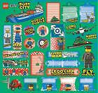 Lego Vehicles Stickers