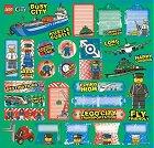 Lego Vehicles Stickers