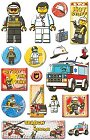 Lego Emergency Epoxy Stickers