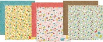 Lillian Bird Paper Pack 12x12