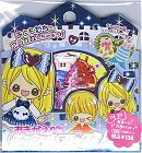 Paper Doll Blue Scented Kawaii Sticker Sack