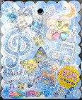 Clear Serenade Music Kawaii Sticker Sack