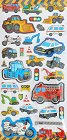 Super Puffy Vehicles Kawaii Stickers