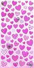 Pink Hearts Kawaii Stickers