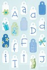 Seabreeze Tag Alphabet Stickers