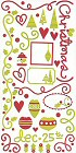 Jolly Holly Days Stickers