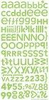 Limeade Hopscotch Alphabet Stickers