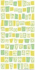 Nature Alphabet Stickers