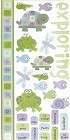 Frogs Tadpoles Turtles Fish Stickers