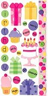 Birthday Girl Stickers