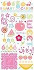 Sweet Candy Glitter Rub-Ons