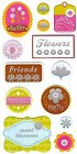 Sweet Blossom Epoxy Stickers