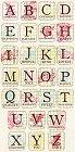 Wishful Thinking Alphabet Stickers