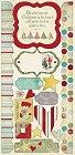 Saint Nick Christmas Stickers