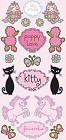 Glitter Girly Girl Stickers