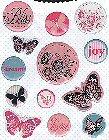 Butterfly Bliss Epoxy Stickers