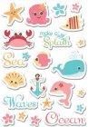Splash Dance Puffy Stickers