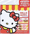 Hello Kitty Sweets Shop Kawaii Sticker Sack