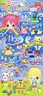 Puffy Fairy Girl Dress-Up Kawaii Stickers