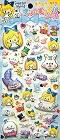 Spr Puffy Alice In Wonderland Kawaii Stickers