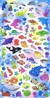 Sea Animals Hard Epoxy Kawaii Stickers