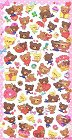 Love Bears Hard Epoxy Kawaii Stickers
