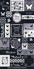 Butterfly Monochrome Kawaii Stickers