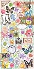 Butterflies Postage Kawaii Stickers