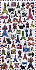 Eiffel Tower Hard Epoxy Kawaii Stickers