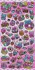 Pink Desserts Hard Epoxy Kawaii Stickers