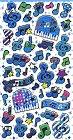 Blue Music Hard Epoxy Kawaii Stickers