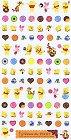 Winnie The Pooh Sweets Kawaii Stickers