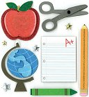 3D Classroom Fun Stickers