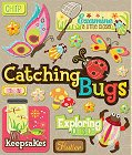 3D Catching Bugs Stickers