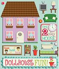 3D Dollhouse Stickers