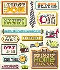 3D First Job Stickers