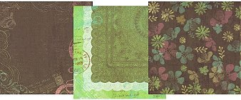 Roam Flowers Paper Pack 12x12