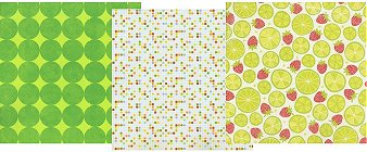 Lime Glitter Paper Pack 12x12
