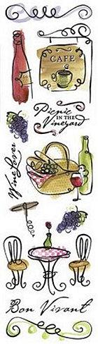 Bon Vivant Stickers