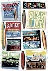 Surfin Wild Stickers