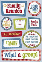 Family Get Together Stickers