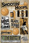 Hang Time Basketball Stickers