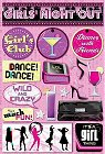 Girls Night Out Stickers